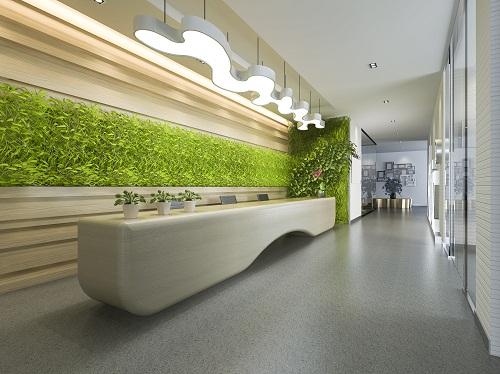 une décoration végétale intérieur